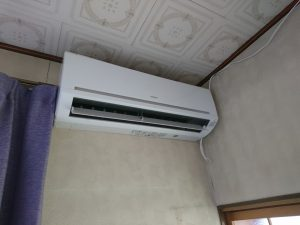 エアコン設置工事